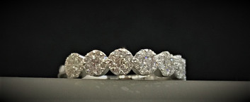 White Gold and Diamond Lovebright Ring