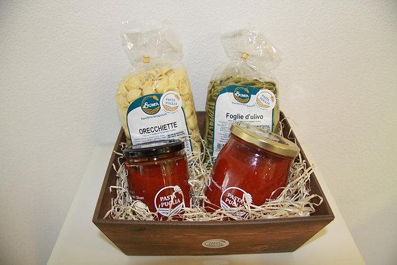 Geschenkkorb Pasta und Sugo