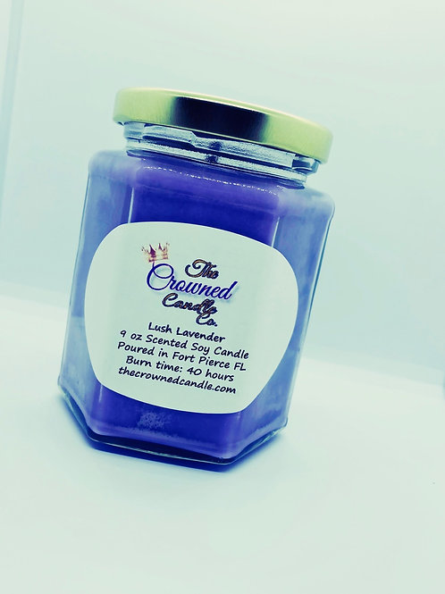 Lush Lavender Soy Candle