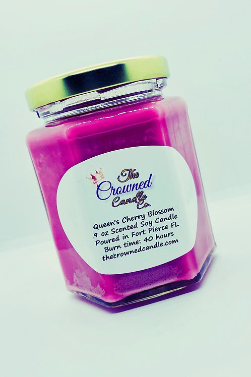 Queen's Cherry Blossom Soy Candle