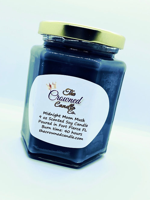 Midnight Moon Musk Soy Candle