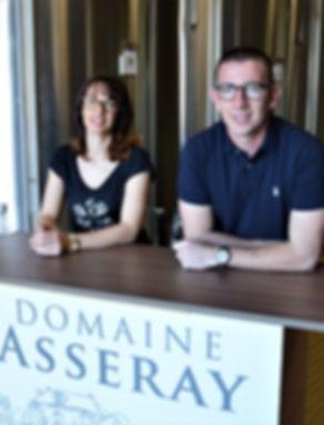Aurélie et Emmanuel Assery