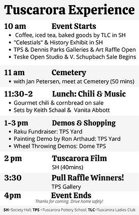 Final-Schedule-Tuscarora Experience.png