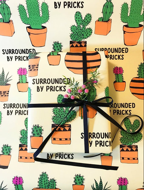 Gift Wrapping - Surrounded by Pricks
