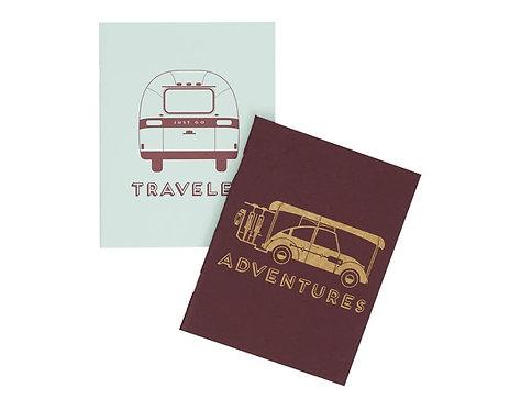 Adventure Pocket Notebooks - Set of 2