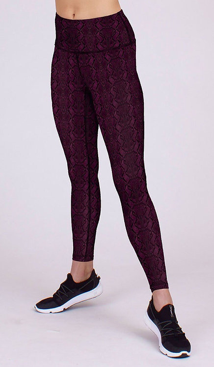 Vida Legging in Rose Cobra