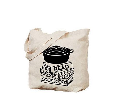 Cookbooks Tote Bag