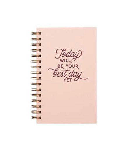 Best Day Yet - Weekly Planner Journal