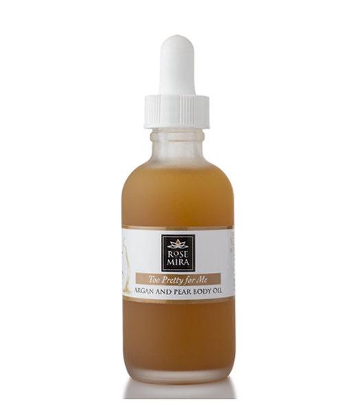 Organic Argan & Pear Body Oil ( 2 oz. )