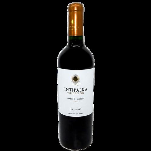 INTIPALKA Malbec Merlot Reserva - 13% - 750ml - 2018, Vorderansicht, erhältlich bei VINOS LATINOS