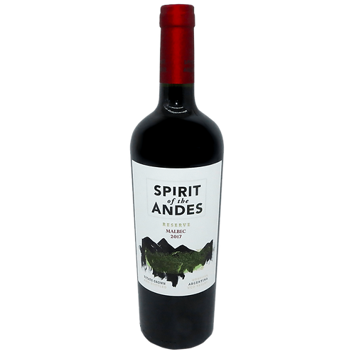 Spirit of the Andes - Malbec Reserva - 14% - 750ml - 2017