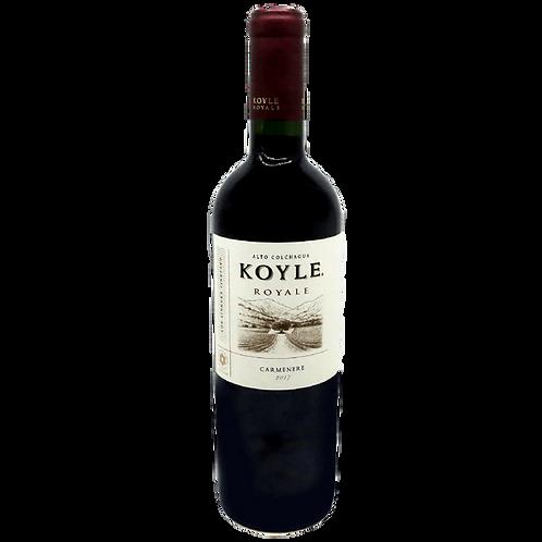 Koyle Royal Carmenere BIO - 14% - 750m - 2017