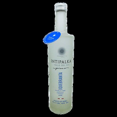 Pisco Intipalka Quebranta, Vorderansicht, erhältlich bei VINOS LATINOS