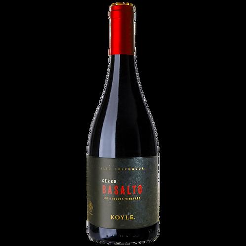 Koyle Cerro Basalto BIO - Cuvée - 14,5% - 750ml - 2015, Vorderansicht, erhältlich bei VINOS LATINOS