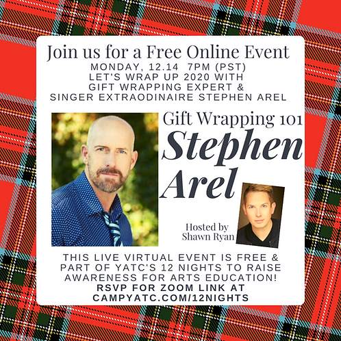Gift Wrapping 101 With Stephan Arel