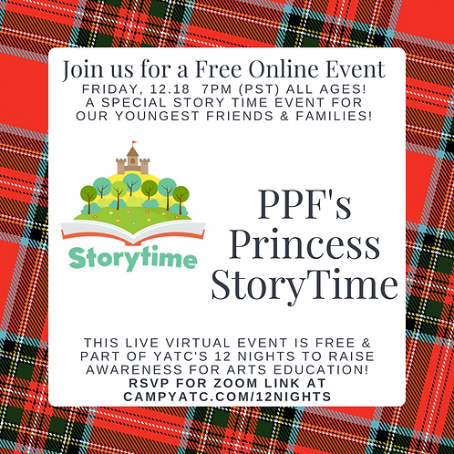 Princess Story Time with the Peter Pan Foundation