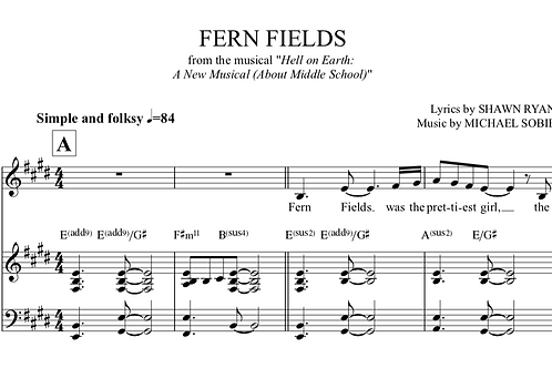 Fern Fiels-Tracks and Sheet Music