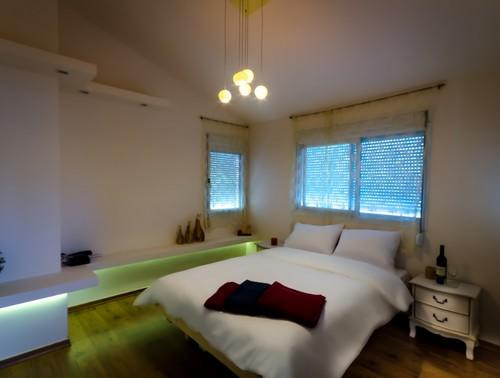 חדר שינה יחידת עצמון צימר ביובלים