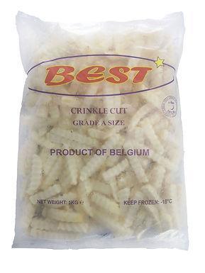 Best Crinkle Cut 1KG