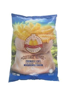 Cottage Crinkle Cut 1KG