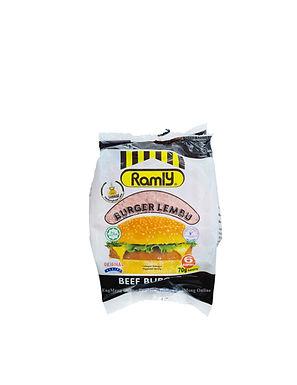 Ramly Beef Burger 70G (6Pieces)