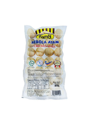 Ramly Chicken Meat Ball 800G (48~50 Pieces)