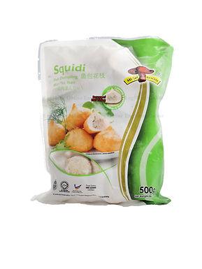 Mushroom Squidi Fish Dumpling 鱼包花枝 500G