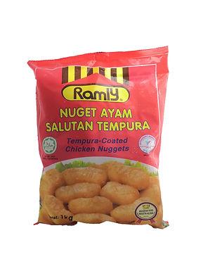 Ramly Tempura Coated Chicken Nuggets 1000G