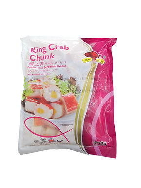 Mushroom King Crab Chunk 蟹王块 500G