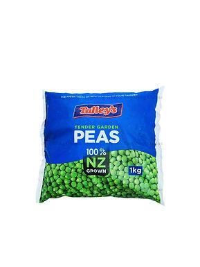 Talley's Tender Garden Peas 1KG