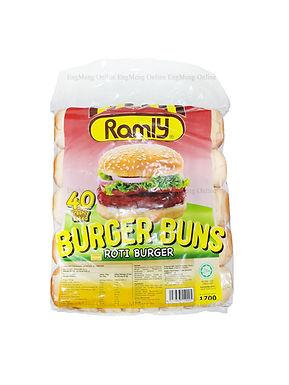 Ramly Burger Bread (40Pieces)