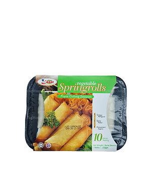 Lazat Vegetable SpringRolls 250G (10 Pieces)