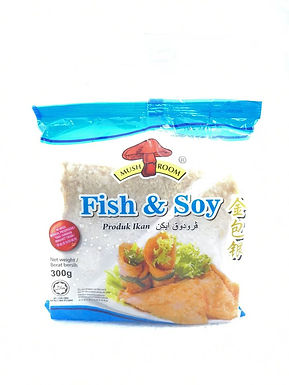 Mushroom's Fish & Soy 金包银 300G