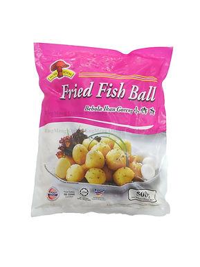 Mushroom Fried fish ball (S size) 小炸丸 500G