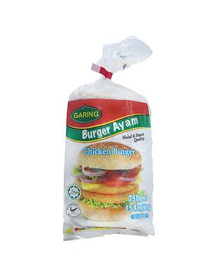 Garing Chicken Burger 1KG (20 Pieces)