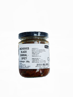 PakLong Anchovies Black Sambal 220g (Spicy)