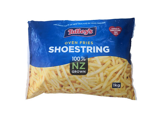 Talley's ShoestringCut French Fries 1KG (New Zealand)