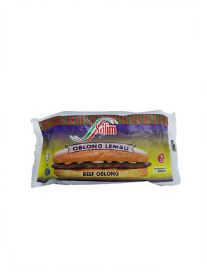Salim Beef Burger Oblong 500G (5 Pieces)