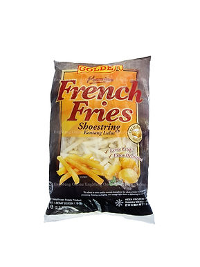 Golden Shoestring Cut French Fries 1KG