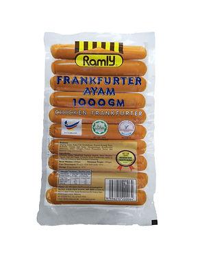 Ramly Chicken Frankfurter 1000G (27 - 28Unit)