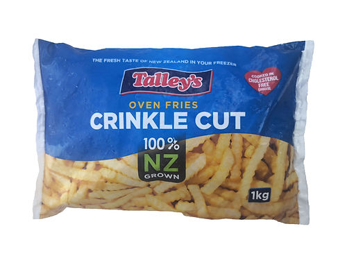 Talley's Crinkle Cut French Fries 1KG (New Zealand)