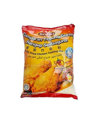 Bestari Cripsy fried Chicken Coating Mix (Spicy) 1KG