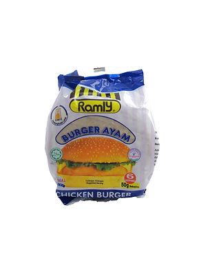 Ramly Chicken Burger 50G (6 Pieces)
