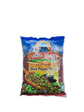 Swiss Bear Black Pepper Sauce 1KG