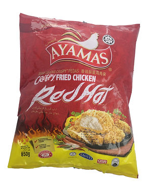 Ayamas Red & Hot Crispy Fried Chicken 850G