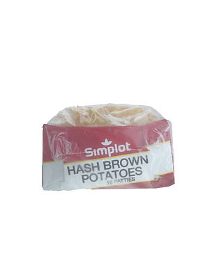 Simplot Hash Brown Potatoes Patties 10 Pieces