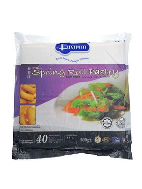 Fusipim Plain Spring Roll Pastry 8.5' 500G