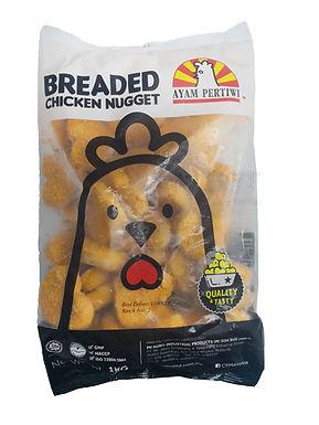 Pertiwi Breaded Chicken Nugget 1KG