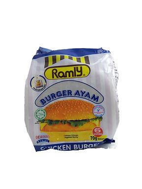 Ramly Chicken Burger 70G (6 Pieces)