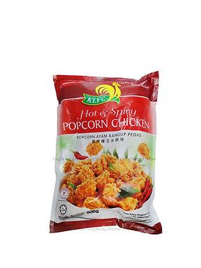 KLFC Hot & Spicy Popcorn Chicken 800G